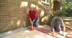 A Quick Guide To Sandstone Paving Installation