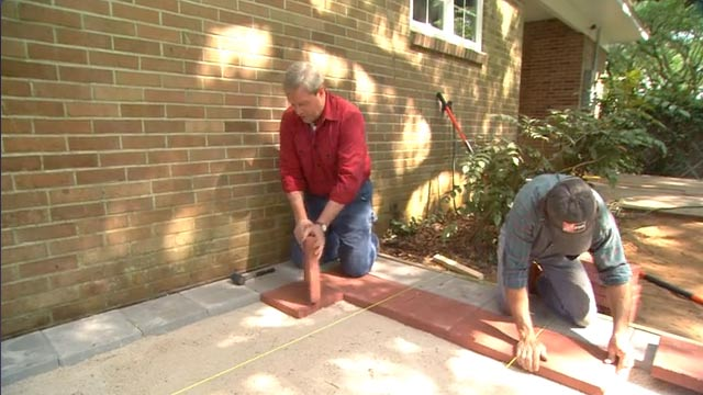 A Quick Guide To Sandstone Paving Installation Home