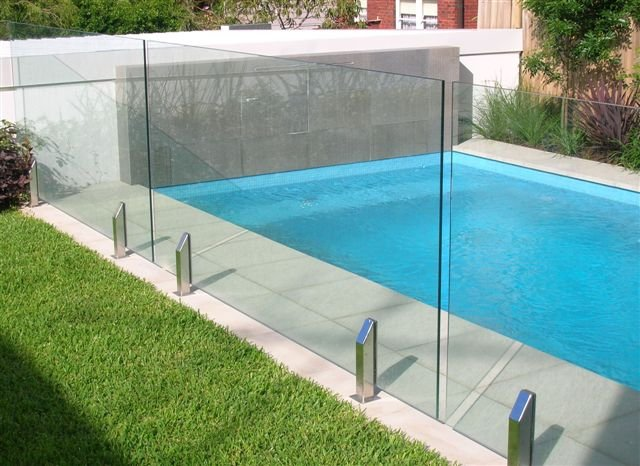 Glass fencing makes your pool area look amazing home