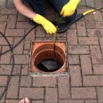 Endoscopy of Clogged Drain Pipes to Clear Blockages