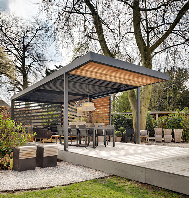 Shed Roof Design Outdoor Kitchen Modern Home Ideas Garden: Give Your Property A Modern Edge With A New Patio Roof