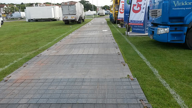 Temporary Construction Roads : How about renting a temporary road surface home