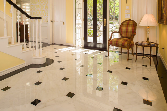 Marble Floor Design Artistic And