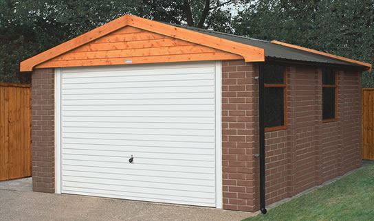 Image result for concrete sectional garages