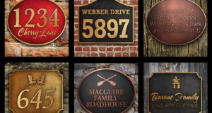 New Technology A Boost to Creating Custom Address Signs, Cottage Plaques and More…