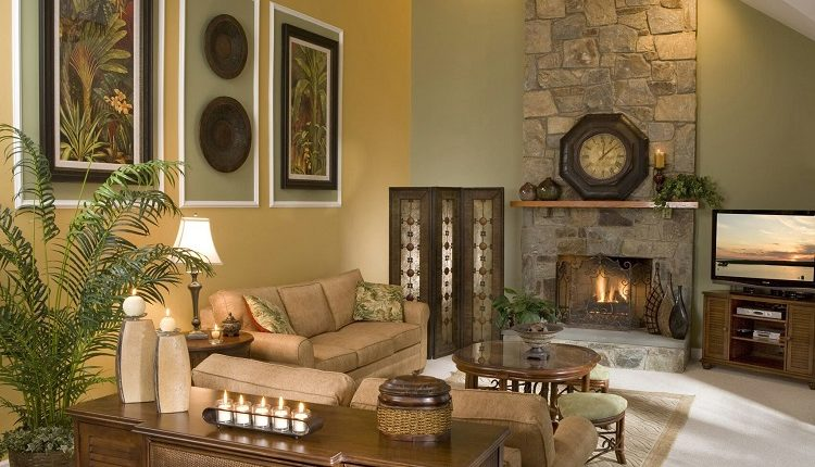 How to Add Wall Décor on Tall Walls