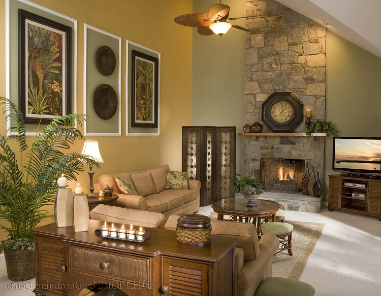 How to Add Wall Décor on Tall Walls - Home Improvement ...