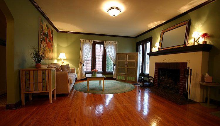Gleaming Laminate Floors